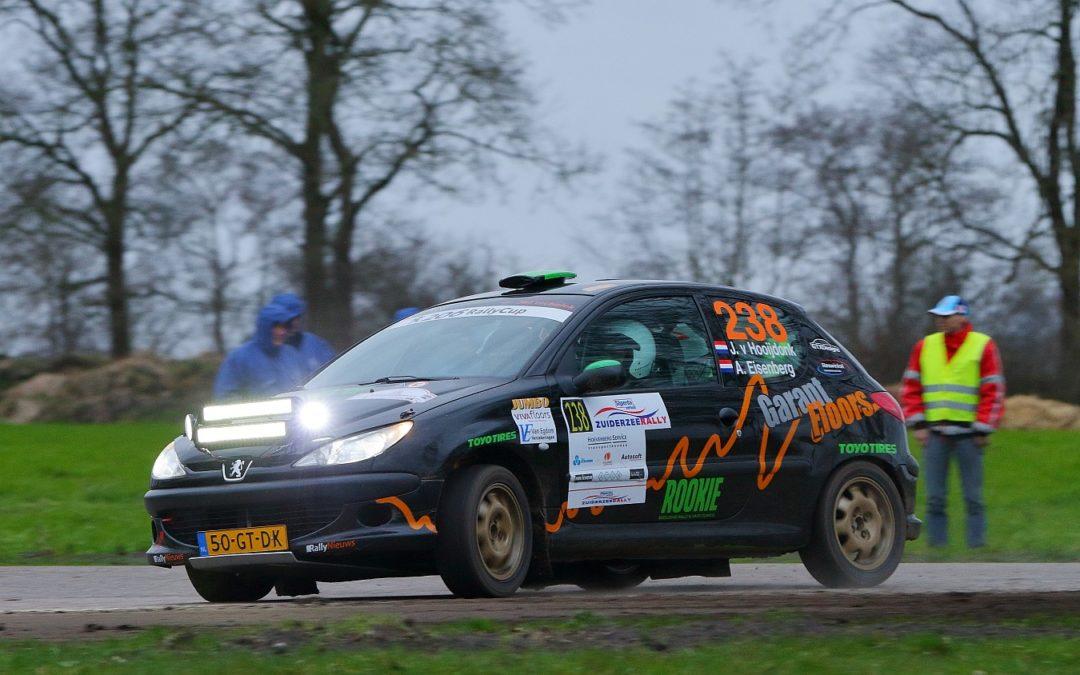 Garantfloors Rallyteam debuteert in 206 Rally Cup