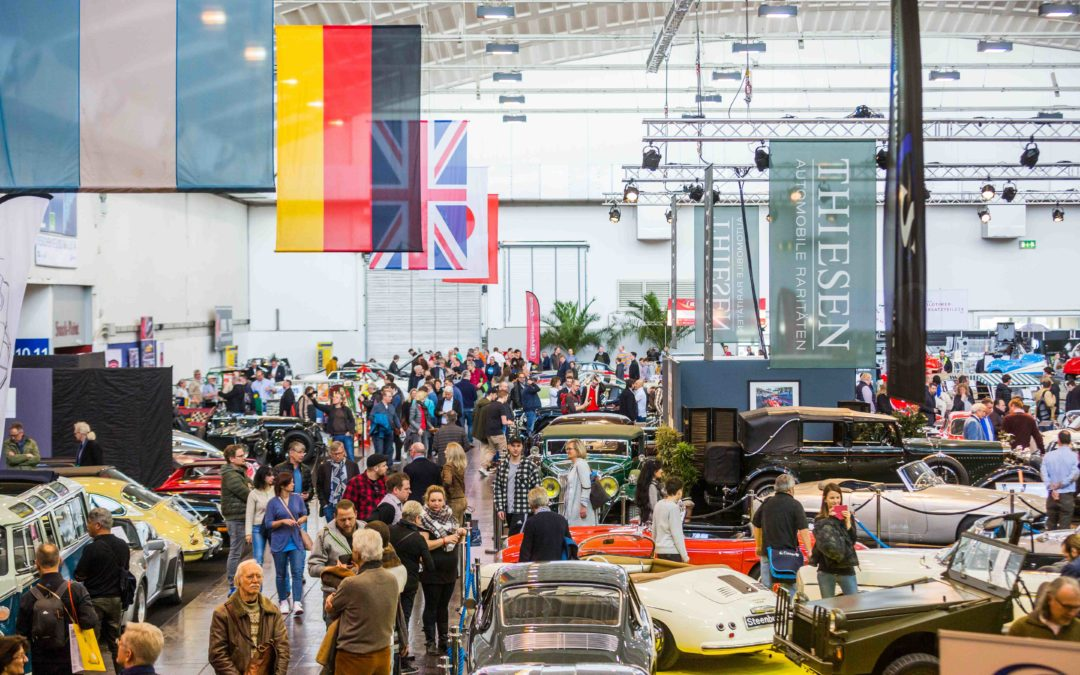 31e TECHNO-CLASSICA ESSEN 2019 –  de Classic-Wereldtentoonstelling  van 10 tot 14 april 2019
