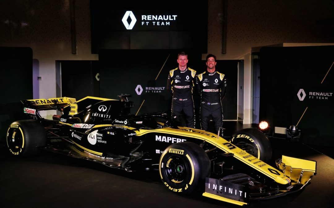 Renault F1 Team demonstratie tijdens GAMMA Racing Day 17 & 18 augustus 2019