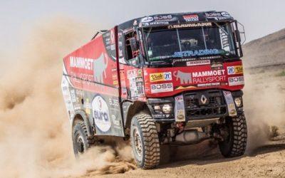 Mammoet Rallysport stabiel in Morocco Desert Challenge