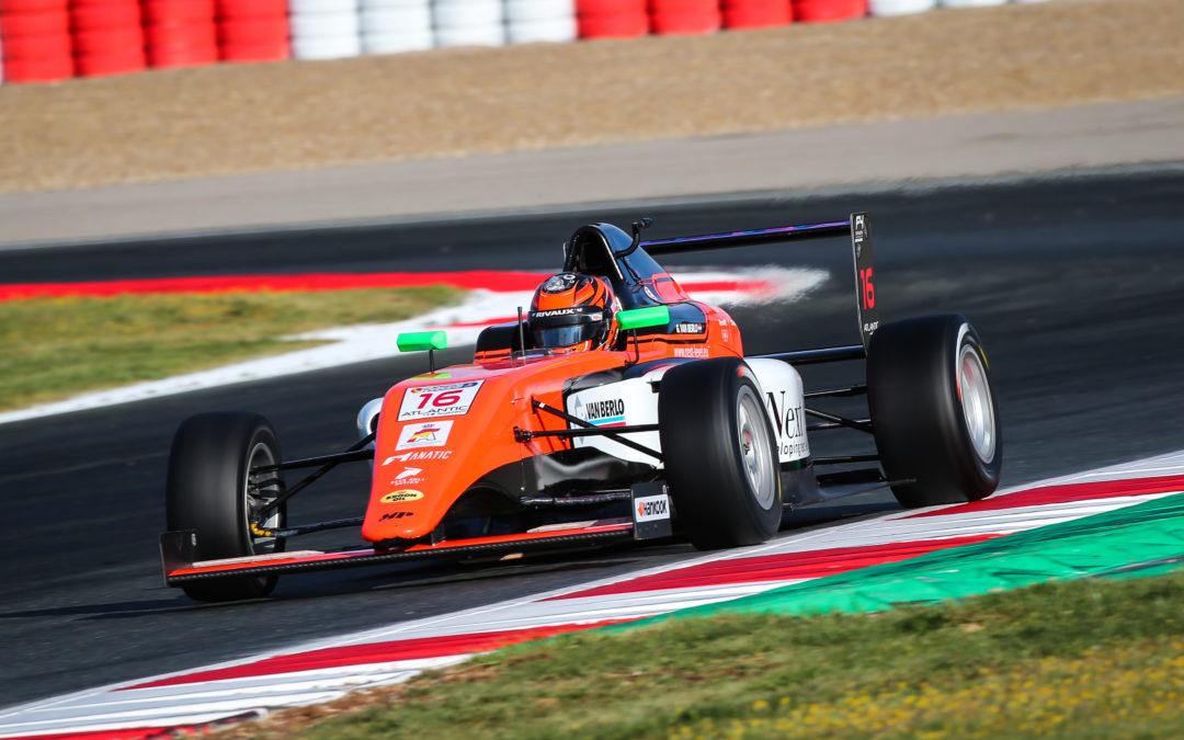 Glenn van Berlo pakt direct podiumplaats bij debuut in Formule 4