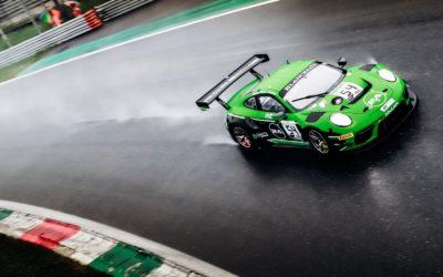 Dinamic Motorsport Porsche takes emotional Blancpain GT Series victory in dramatic 2019 season-opener at Monza