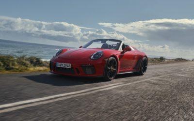 Nieuwe Porsche 911 Speedster beleeft première in New York