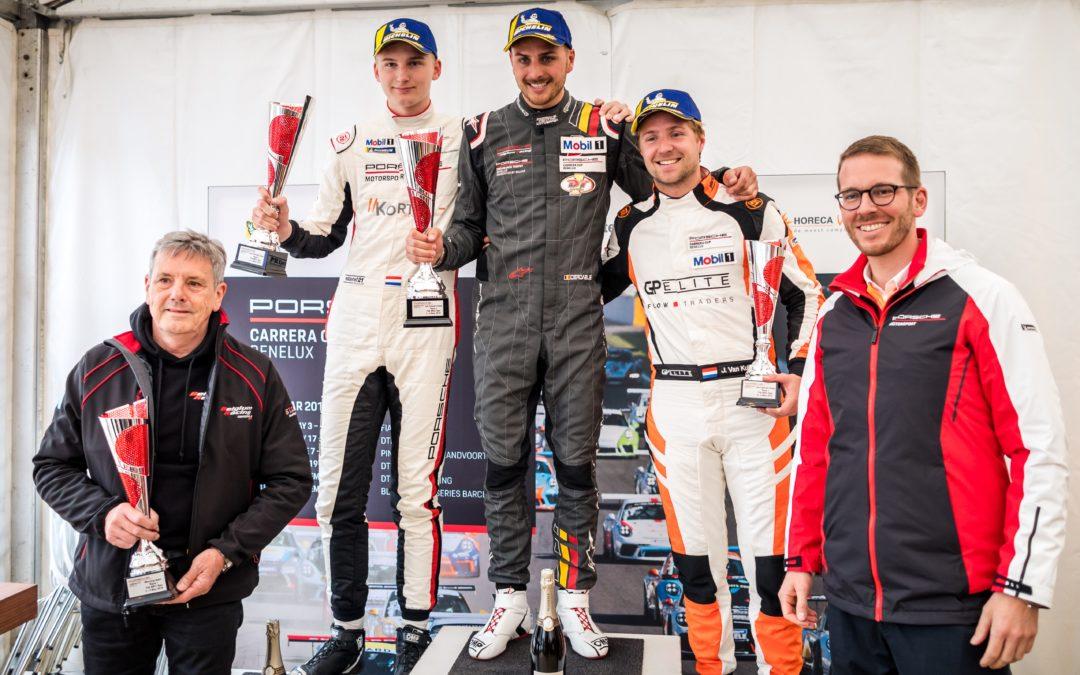 Team GP Elite begint seizoen met podiumplaatsen en twee klassezeges