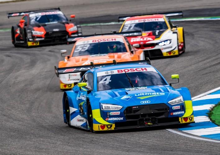 Audi-coureur Robin Frijns begint DTM 2019 met twee podiumplaatsen