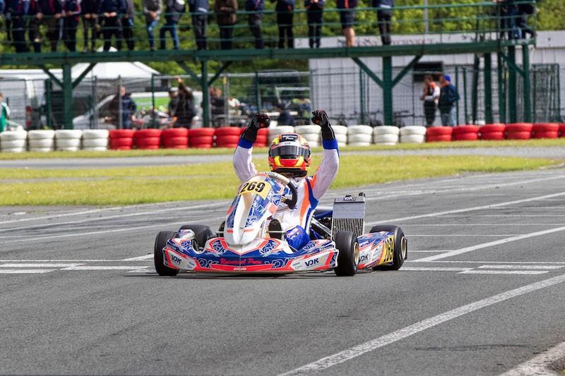 Spannend weekend in Ostricourt voor de IAME Series Benelux!