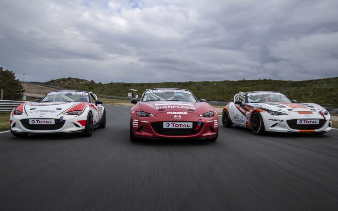 Nieuwe Mazda MX-5 Cup 2019 klaar voor de start