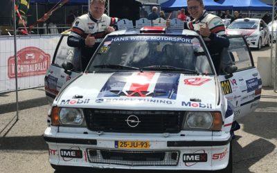 Janjur Monshouwer wint de Vechtdal Short Rally