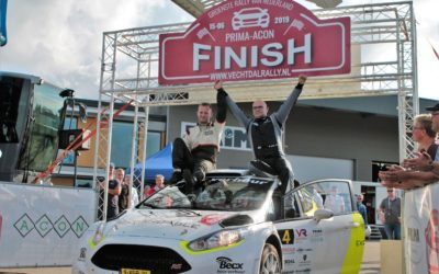 Michiel Becx en Sander van Barschot winnaars van de Prima-Acon Vechtdal Rally