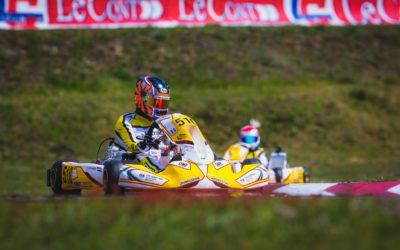 Kater voor winnende Robert de Haan bij FIA Karting Academy Trophy in Sarno