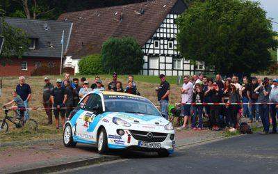 Podium voor Rallysport Utrecht in ADAC Rallye Stemweder Berg