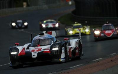 Toyota wint tweede keer op rij de 24 uur van Le Mans