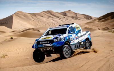 Van Loon laat ware snelheid zien in Silk Way Rally