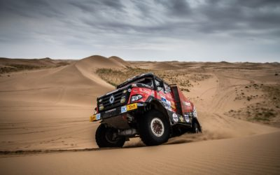 Martin van den Brink schuift op naar vierde plaats in Silk Way Rally