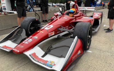 Rinus van Kalmthout maakt indruk bij IndyCar-debuut op Portland