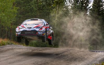 Dubbele podiumplek voor Toyota GAZOO Racing in Rally van Finland