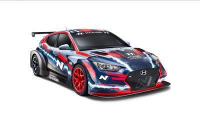 Hyundai Motorsport begint aan nieuw hoofdstuk met volledig elektrische raceauto Veloster N ETCR
