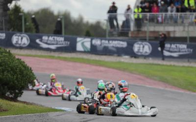Kas Haverkort met inhaalrace naar elfde plaats bij FIA Wereldkampioenschap OK