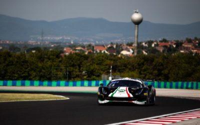 Louis Machiels behaalt dubbel podium in AF Corse Ferrari 488
