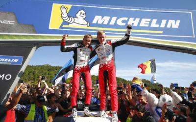 Toyota GAZOO Racing-coureur Ott Tänak stelt rijderstitel WRC 2019 veilig