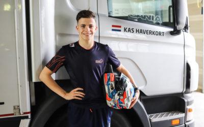 """Racetalent Kas Haverkort ambieert stap naar de Formule 4: """"Ik ben klaar voor de volgende stap"""""""