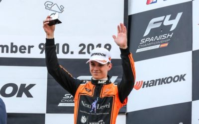 Podiumposities voor TeamNL-rijders in Barcelona, Glenn van Berlo vicekampioen in Spaanse Formule 4-titelstrijd