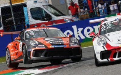 Porsche Mobil 1 Supercup 2020 start tijdens F1-weekend Zandvoort