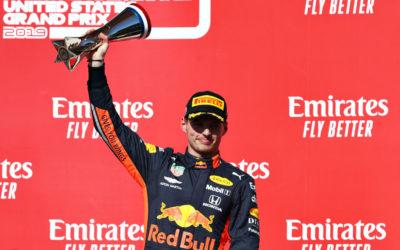"""Max Verstappen derde in GP USA: """"We hebben er het maximale uitgehaald"""""""