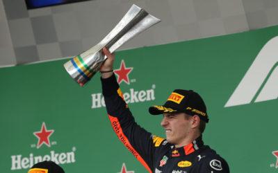 "Max Verstappen wint knotsgekke Braziliaanse Grand Prix: ""Geweldig om de race te winnen"""