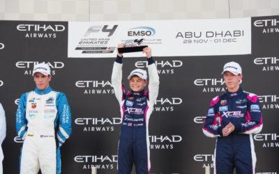 Naast Max Verstappen nog een Nederlands podium in Abu Dhabi! Tijmen van der Helm snelt in F4 naar podium!