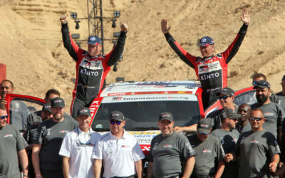 Bernhard ten Brinke evenaart beste prestatie in Dakar Rally
