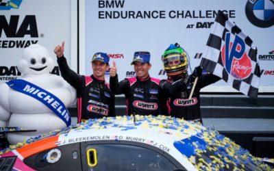 Jeroen Bleekemolen pakt winst en vijfde plaats in Daytona