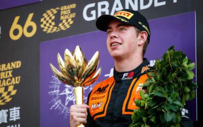 RICHARD VERSCHOOR VERLENGT SAMEN MET MP MOTORSPORT VERBLIJF IN FIA F3