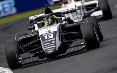 Drie top tien klasseringen voor Tijmen van der Helm in Toyota Racing Series