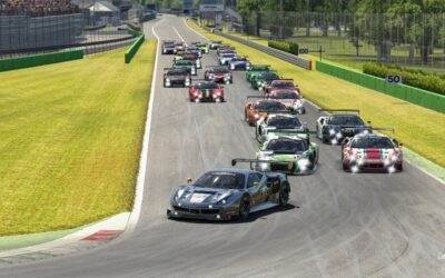 eTeam WRT secures a 1-2 finish at the first ESPORTS 12H MONZA