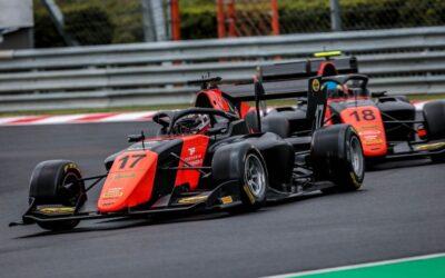 Richard Verschoor voor de zesde keer op rij in de punten bij FIA Formule 3