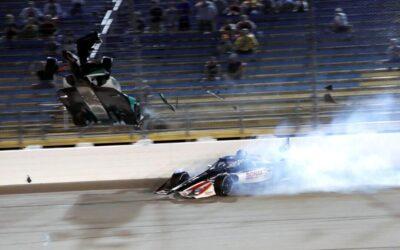 Dubbele pech voor Rinus van Kalmthout op Iowa Speedway