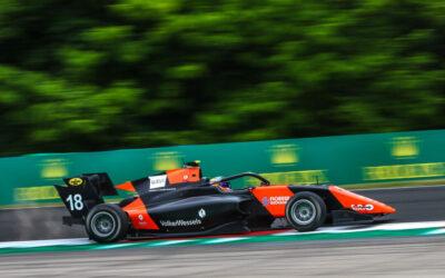 Bizar raceweekend in FIA Formula 3: ijzersterke Bent Viscaal naar podium!