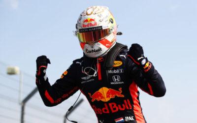 """Max Verstappen wint de 70th Anniversary Grand Prix: """"Geweldig resultaat"""""""
