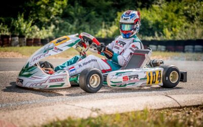 Formuleracen of karten, Kas Haverkort is altijd snel: winst in ADAC!