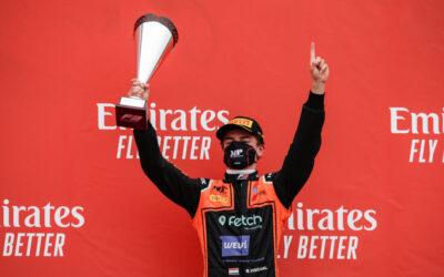 Ontketende Bent Viscaal pakt eerste overwinning in FIA F3-kampioenschap