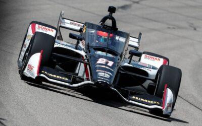 Rinus van Kalmthout strijdend naar achtste en elfde plaats bij NTT IndyCar Series op Mid-Ohio
