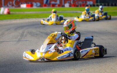Tegenslag voor Jayden Thien bij FIA Karting Academy Trophy in Genk
