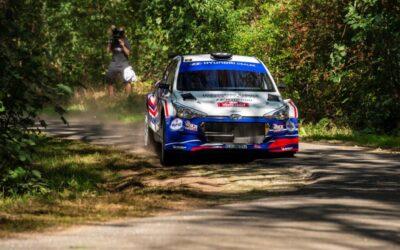 Podium voor Nederlands kampioen Bob de Jong in Vechtdal Rally (VIDEO)