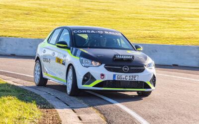 Opel Corsa-e Rally is klaar voor de start