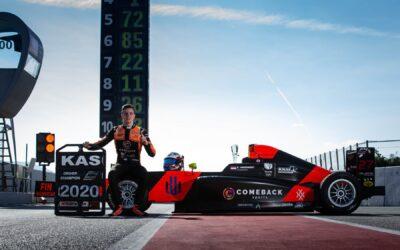 Dubbele winst en tweede plaats voor Spaans F4-kampioen Kas Haverkort in Barcelona