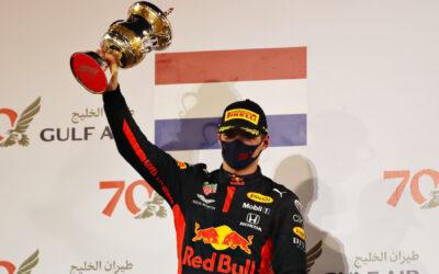 """Max Verstappen tweede in Grand Prix van Bahrein: """"Een goed resultaat"""""""
