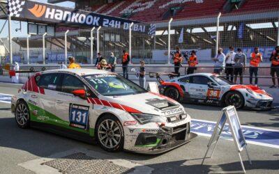 TOPCAR Sport behaalt eerste TCE-divisiezege bij de Hankook 24H DUBAI