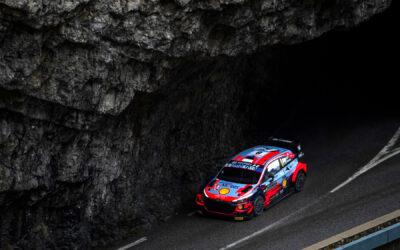 Tänak double earns Rallye Monte-Carlo lead in WRC season opener