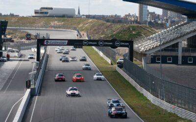 Zes verschillende winnaars in Supercar Challenge tijdens V-Max Openingsraces